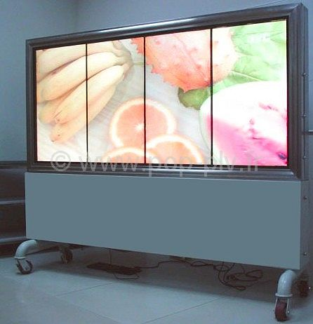 affichage exterieur ecran lcd video player. Black Bedroom Furniture Sets. Home Design Ideas