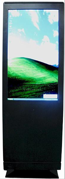 ecran lcd moniteur 40 pouces face 4 pc integre pop plv fr le site de la plv num rique. Black Bedroom Furniture Sets. Home Design Ideas