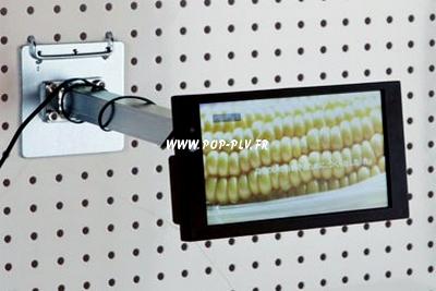 écrans lcd avec son support GMS linéaire