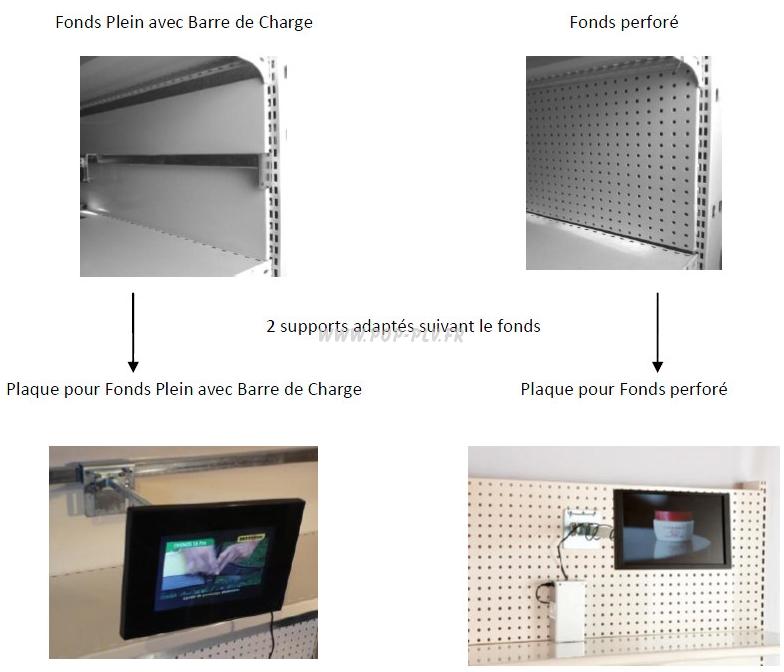 supports d'écrans LCD - fixations d'écrans lcd