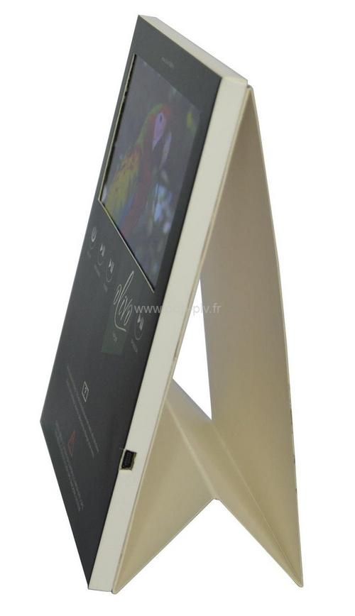 presentoir-comptoir-carton-ecran-video-2 - présentoir de comptoir