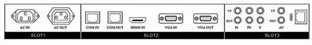 """lcd - connectique des écrans lcd """"Horizon"""" - Ecrans Lcd grand angle"""
