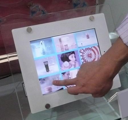 """plv numérique - écran lcd à mémoire - gamme """"deco"""" version tactile"""