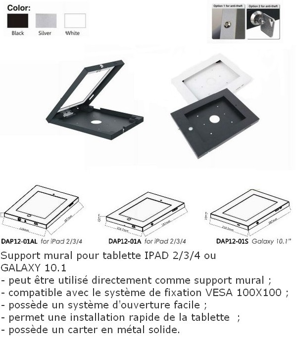 supports tablette