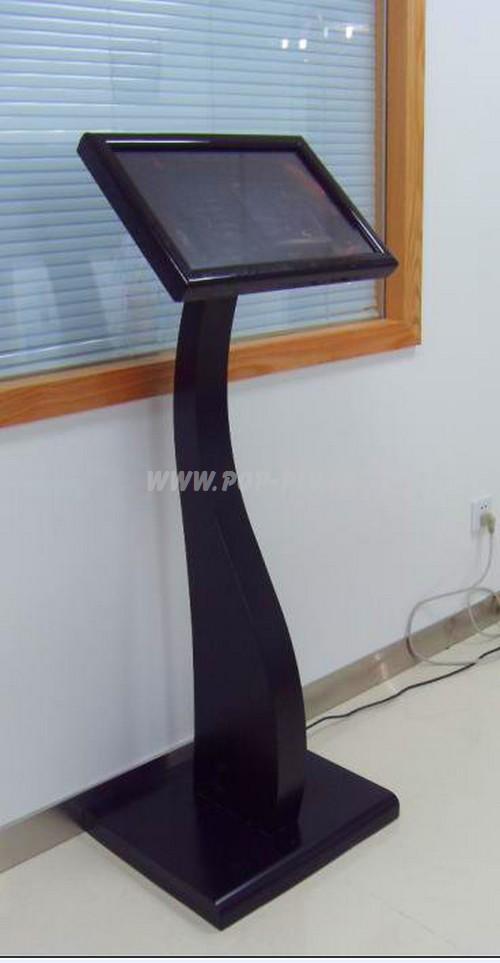 plv interactive - écran Lcd sur pied pupitre tactile