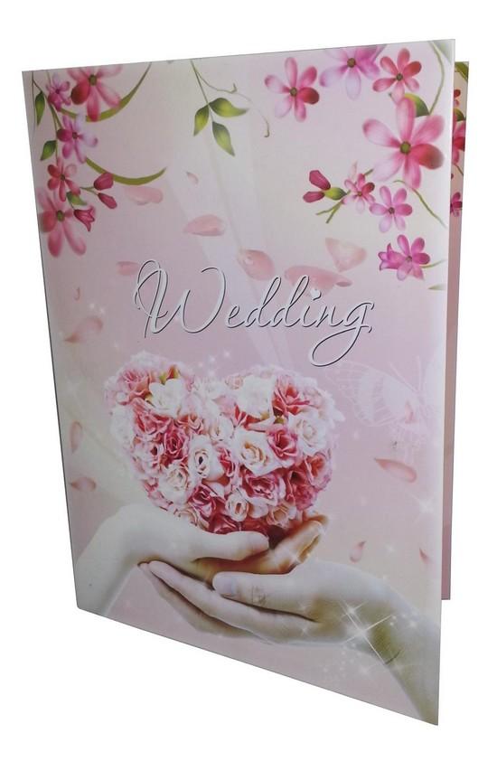 faire part mariage vidéo - couverture de la brochure