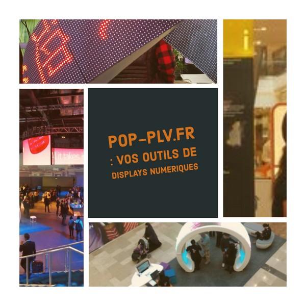 plv interactive - outils de display numérique