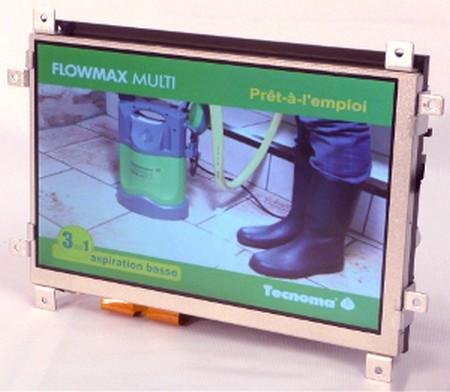 """écran publicitaire - version sans cadre pour intégration dans du mobilier - gamme """"Supermarket 719"""""""