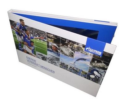 packaging - brochure vidéo vue de devant - on devine l'écran Lcd à l'intérieur