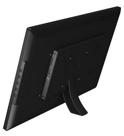 tablette Android 22 pouces vue de dos avec support