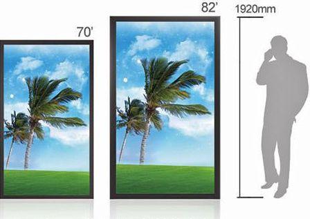 lcd - écrans avec dalles Lcd de taille 70 et 82 pouces