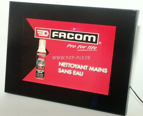 Ecran Lcd vidéo-player 12 pouces gamme « Eco-plus »